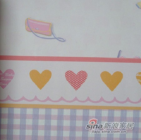 皇冠壁纸快乐童年系列53208、53031、53091
