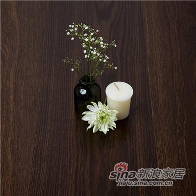 德合家BEFAG三层实木复合地板B55616单拼烟熏自然油拉丝橡木