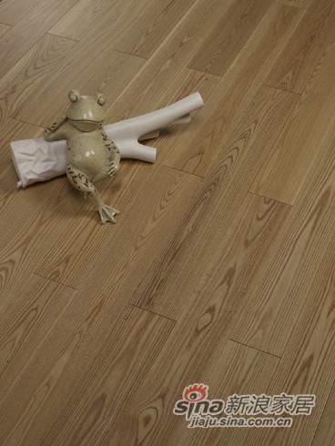 【永吉地板】实木晶砂面——幸福时光 白蜡木本色
