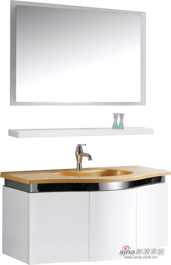 珠光板浴室柜-1