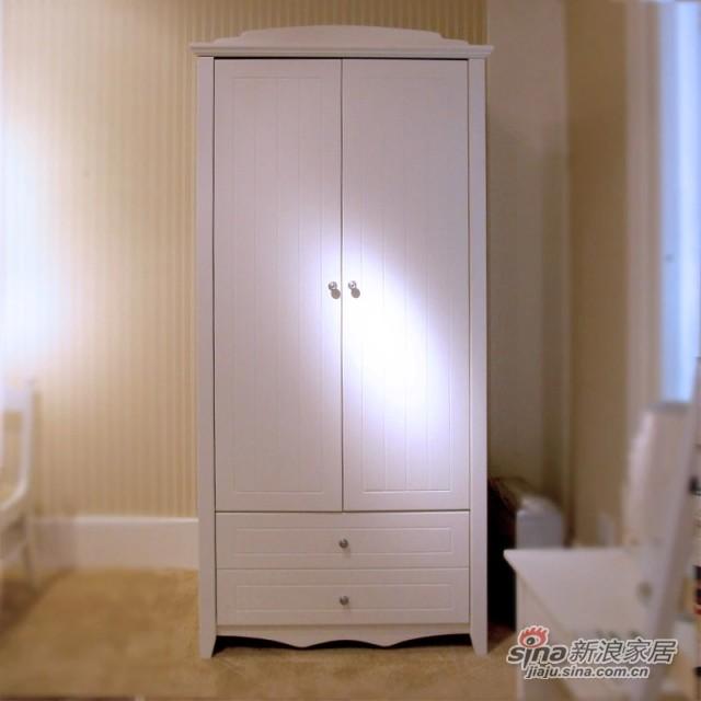【新干线】板木烤漆两门衣柜衣橱立柜储藏柜-0