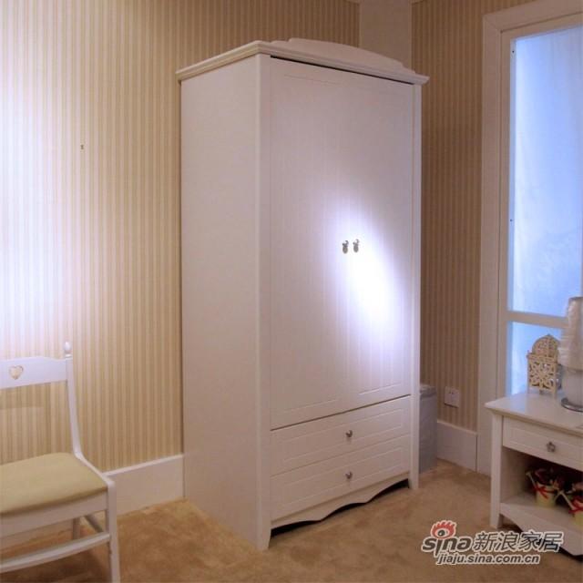 【新干线】板木烤漆两门衣柜衣橱立柜储藏柜-1