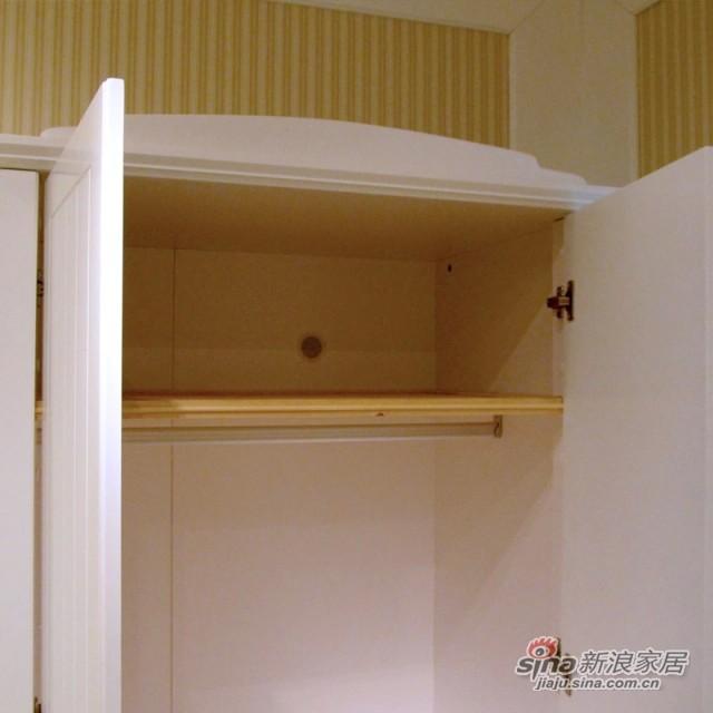 【新干线】板木烤漆两门衣柜衣橱立柜储藏柜-3