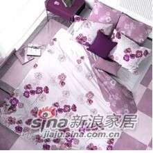 紫罗兰家纺床上用品高档天丝系列六件套睡莲VPEY014-6-0