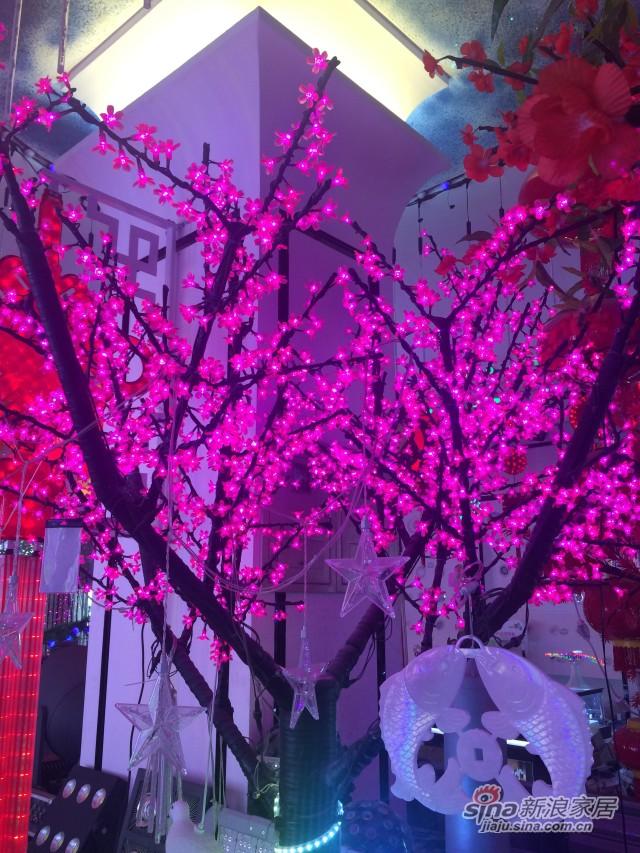 银雨-高仿真树灯