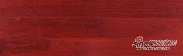 大卫地板经典实木-皇冠明珠系列3G-S32LG02印茄木(3G面深色)-0