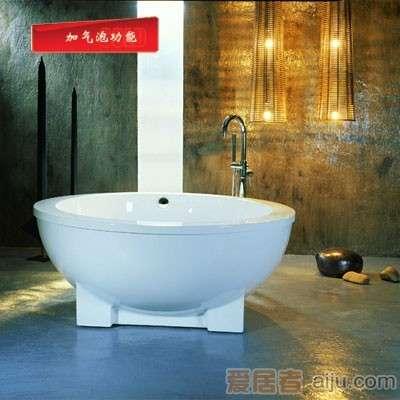 英皇亚克力豪华艺术按摩浴缸ET-012A(加气泡功能)1