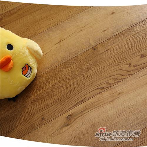 安信橡木三层实木复合地板-0