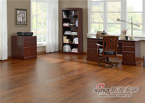 安信橡木三层实木复合地板-1