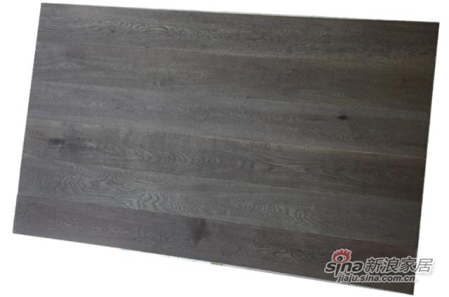 金桥地板三层实木复合地板无醛环保木地板锁扣 庄园橡木-1