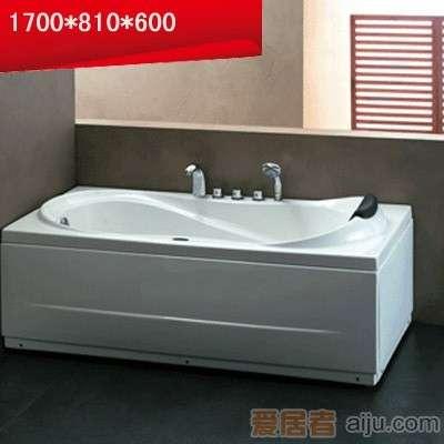 法恩莎五件套双裙浴缸-F1701SQ(1710*810*600mm)1