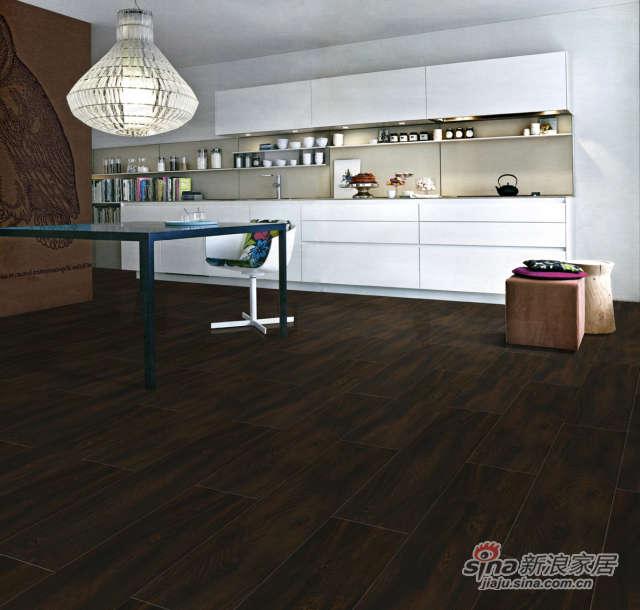 欧典地板新百度四代美国黑橡-0