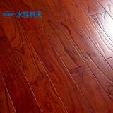 珊瑚红榆木实木复合地板