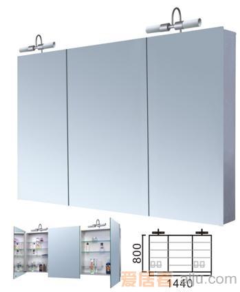 派尔沃浴室柜(镜柜)-M3303A(1500*800*126MM)1