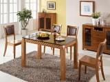 瑞森玻璃面RS153#餐桌椅