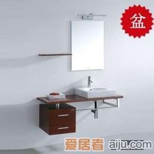法恩莎实木浴室柜FP4615盆(480*480*190mm)1