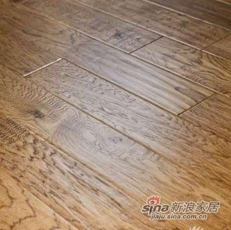 圣象洛基山核桃实木复合地板