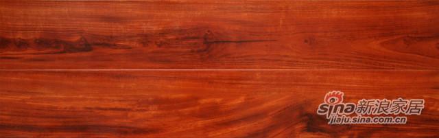富林W6526千叶红檀强化地板