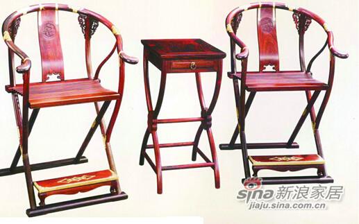 雕螭纹交椅