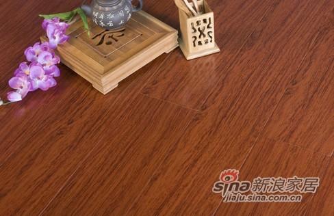 恺牌地板实木系列—红花梨色/KP6112