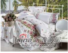 紫罗兰家纺床上用品全棉活性印花四件套馨香PCKA333-4-0
