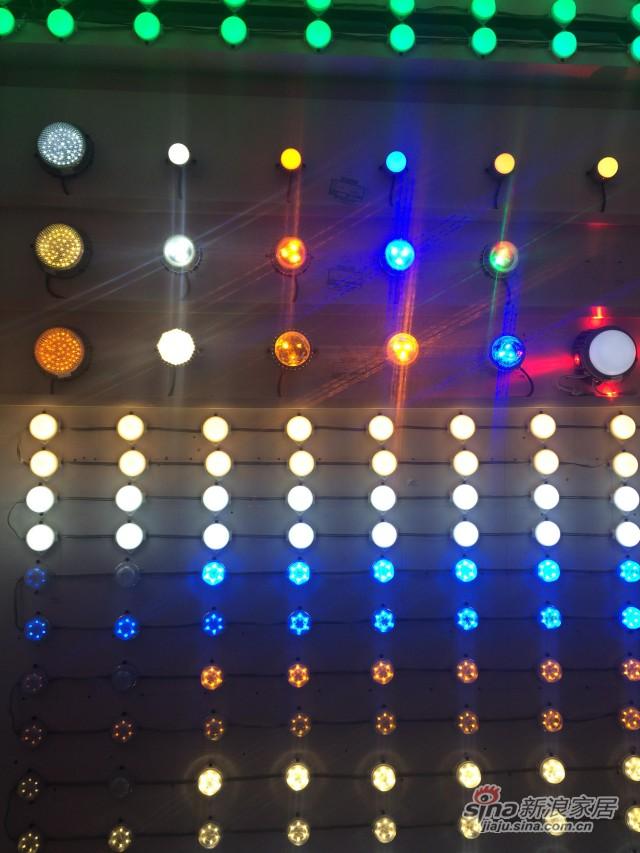 银雨—5WLED方底点光源