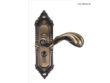 雅洁AS2051-HB398-36中锁英文镍锁体+英文70青古铜锁胆