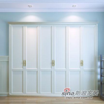 玛格定制家具包覆D型定制衣柜-3