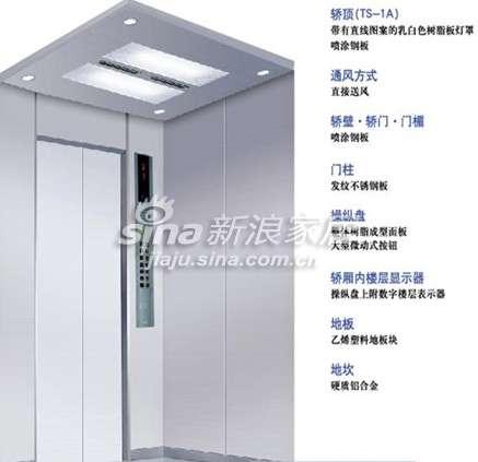 东芝电梯TOPS-VF3乘客电梯