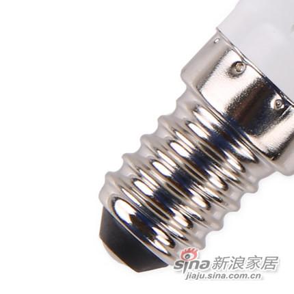 欧普照明 led灯泡 E14蜡烛泡暖白 小螺口螺旋尖泡-2