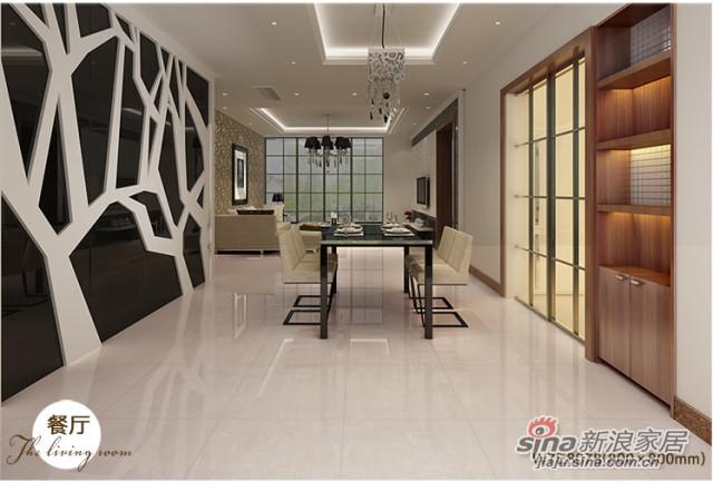 楼兰瓷砖 玻化砖 纳福娜 W7E8075 -2