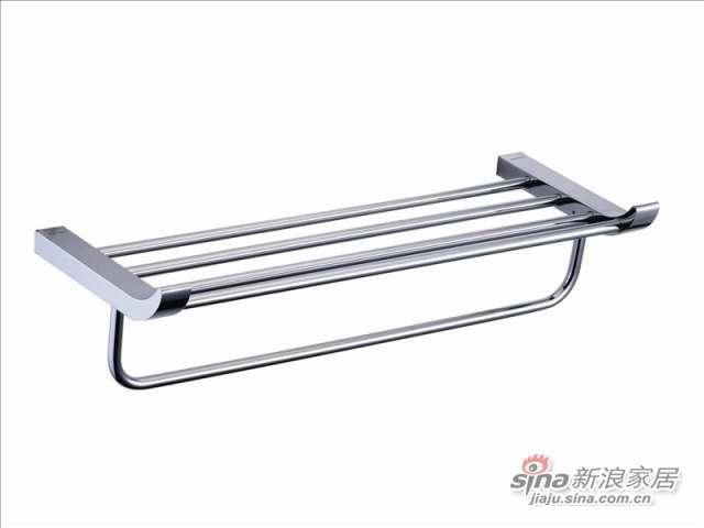 五金挂件雅高系列浴巾架JY21814    -0