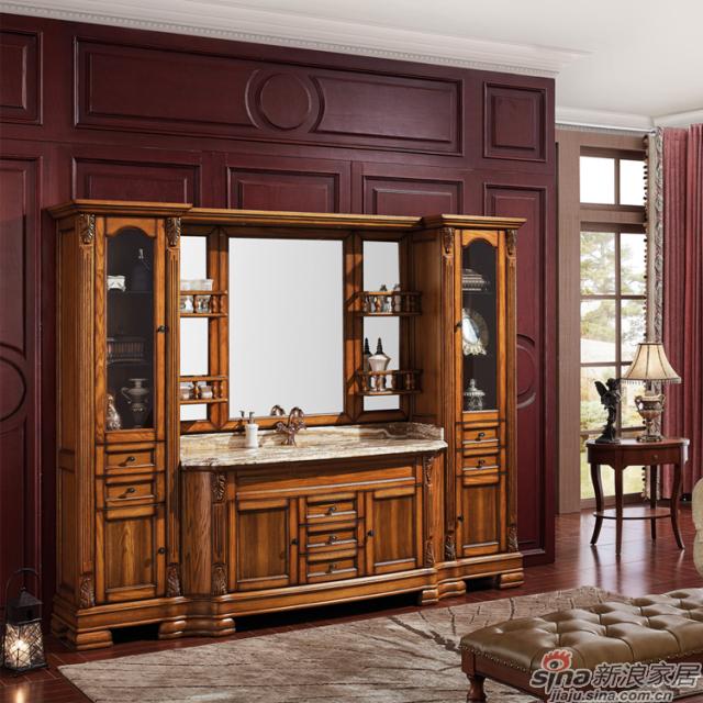 阿洛尼浴室柜-欧式组合柜-A1636-0