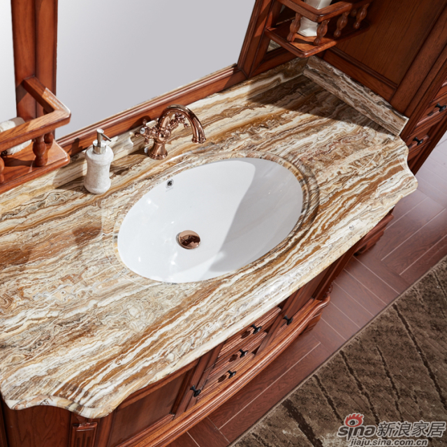 阿洛尼浴室柜-欧式组合柜-A1636-2