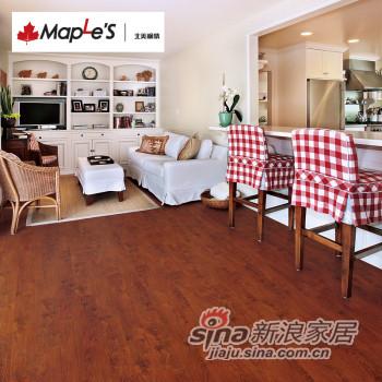 北美枫情地板 强化复合地板-0