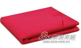 MLILY床上用品特价套件全棉斜纹 活性印染炫彩(玫红)床单-0