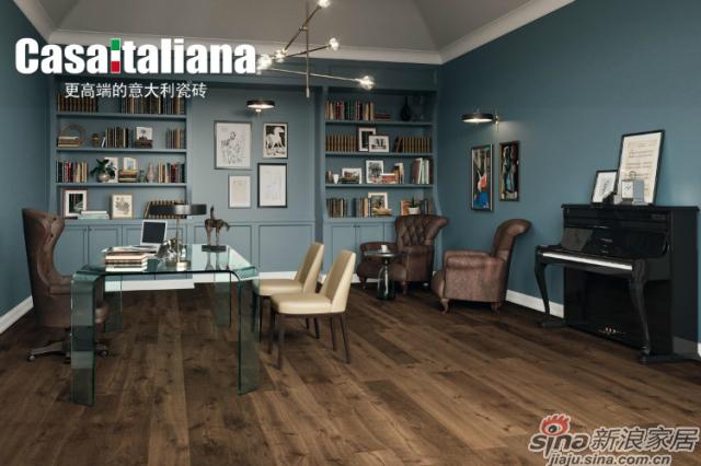 高级意大利橡木的天然品质,通过迷人的细节增强了空间的吸引力。