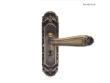 雅洁AS2051-HB179-36中锁英文镍锁体+英文70青古铜锁胆