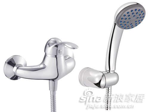 挂墙式淋浴龙头-0