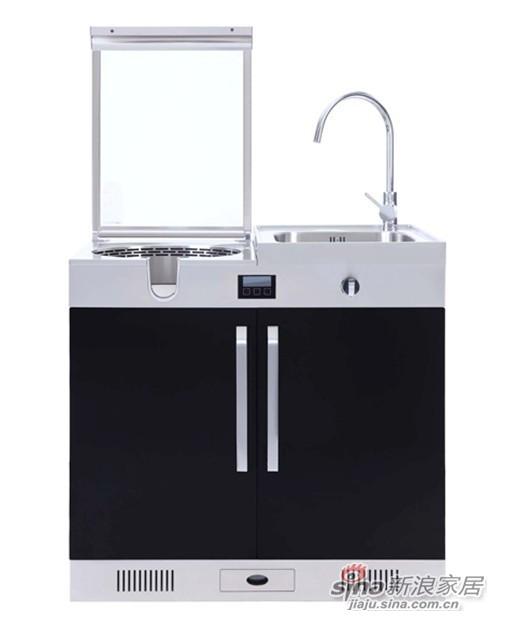 优格乐风系列的单灶水槽机