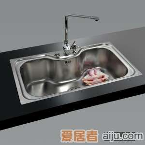 GORLDE优质不锈钢水槽/洗菜池 巴赫系列1016FY(大单盆)