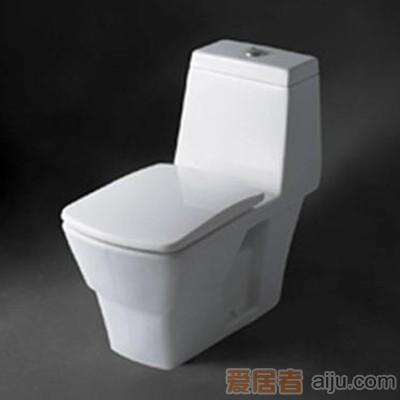 惠达-冲落式连体座便器-C155(双档)1