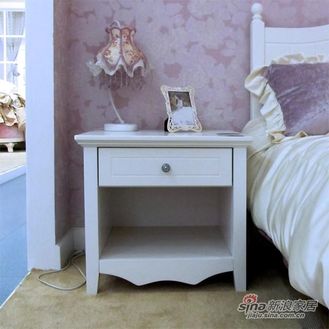 【新干线】板式板木床头柜收纳柜储物柜-0