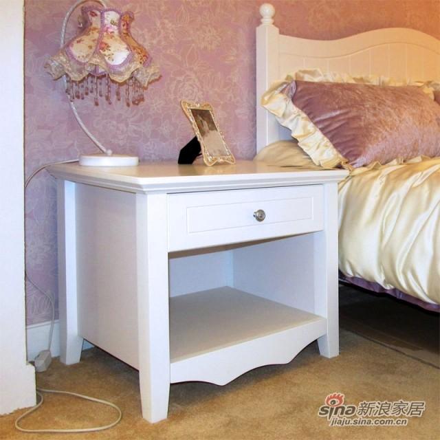 【新干线】板式板木床头柜收纳柜储物柜-1