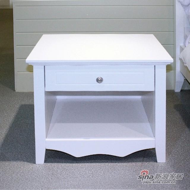 【新干线】板式板木床头柜收纳柜储物柜-2