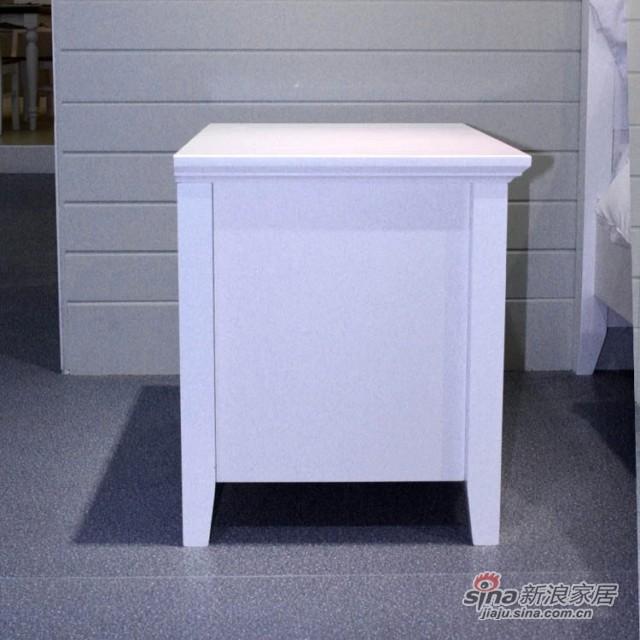 【新干线】板式板木床头柜收纳柜储物柜-3