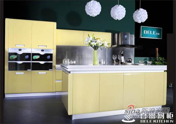 现代简约 香槟百合系列国产烤漆吊柜-1