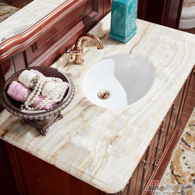 阿洛尼浴室柜-欧式仿古柜-A1802B-2