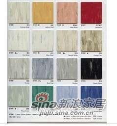阿姆斯壮PVC塑胶地板石塑片材同质透心