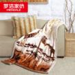 梦洁家纺 双层加厚毛毯休闲毯
